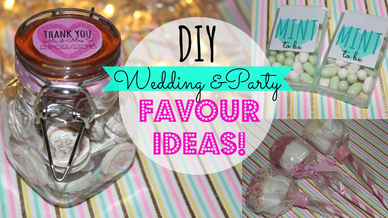 DIY Wedding Favours! Pinterest Inspired, Easy & Affordable -Wedding ...