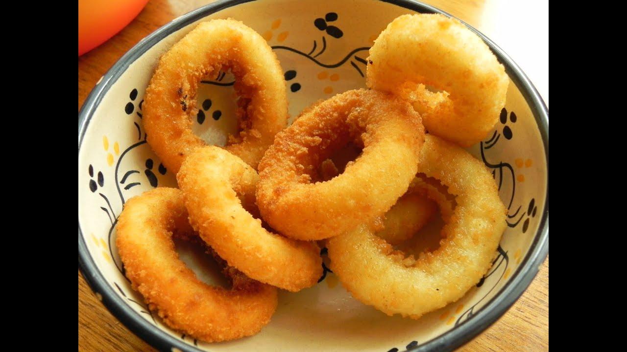 aprende a cocinar los aros de cebolla youtube