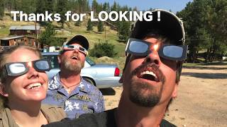 Total Solar Eclipse Adventure from Wyoming | Day Turns to Night
