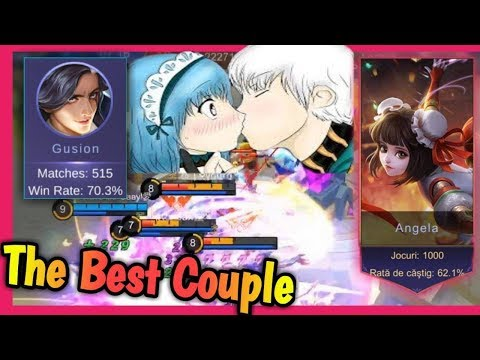 The Best Couple Ever - 1000 Games on Angela ❤ Mobile Legends: Bang Bang