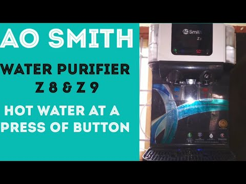 AO Smith water purifier review | AO Smith water purifier advantages | Hot water in water purifier