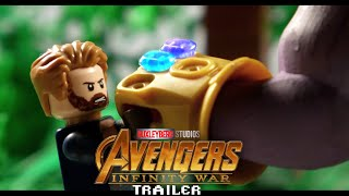 Avengers Infinity War Trailer 2 in LEGO