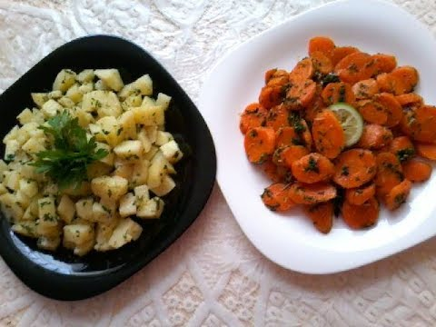 2 recette salades v g tariennes marocaine la chermoula cuisine marocain 41 youtube. Black Bedroom Furniture Sets. Home Design Ideas