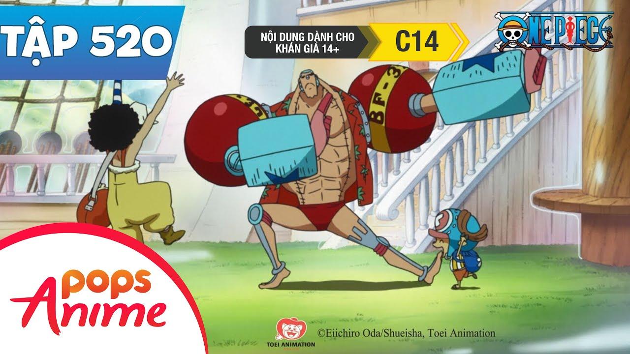 One Piece Tập 520 - Nhân Vật Lớn Tụ Họp. Uy Thế Của Băng Hải Tặc Mũ Rơm Giả Mạo - Đảo Hải Tặc