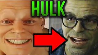 Ewolucja efektów Hulka przez lata - Kulisy Marvela
