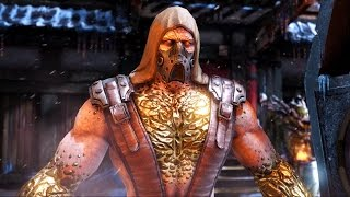 Mortal Kombat X - Tremor Ladder Walkthrough and Ending