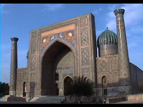 The silk road city of Samarkand