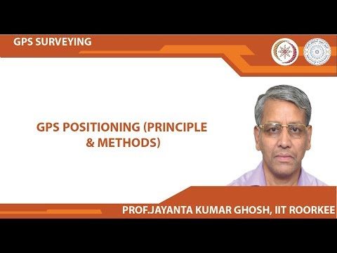 GPS Positioning (Principle & Methods)