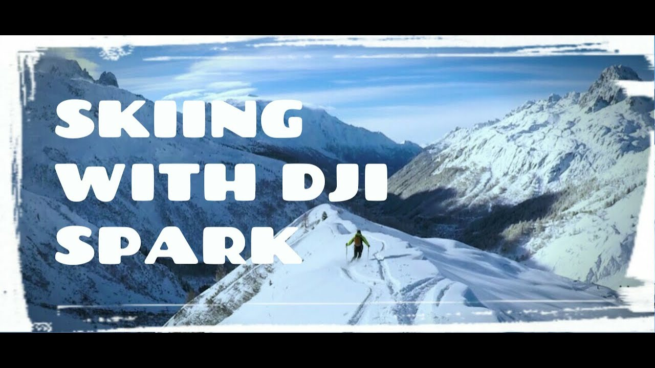 Dji Spark - Waking up in ski paradise