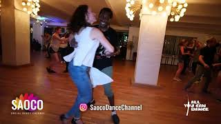 Nathan Goulbourne and Olga Sa Salsa Dancing at Berlin Salsa Marathon 2018, Saturday 18.08.2018