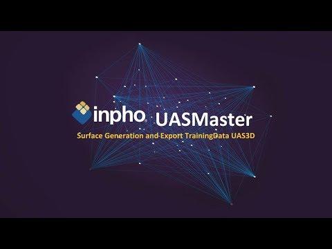 Inpho UASMaster 3D - Surface Generation and Export Training Data UAS3D
