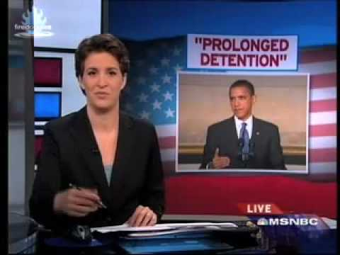 obama implements 'precrime' w/ 'prolonged detention' | rachel maddow