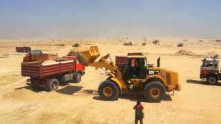 مليون متر مكعب يوميا من الرمال فى قناة السويس الجديدة