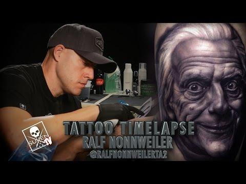 Tattoo Time Lapse - Ralf Nonnweiler