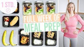 MEAL PREP für 1 Woche | Wochenplan zum Abnehmen | Vorkochen für 5 Tage