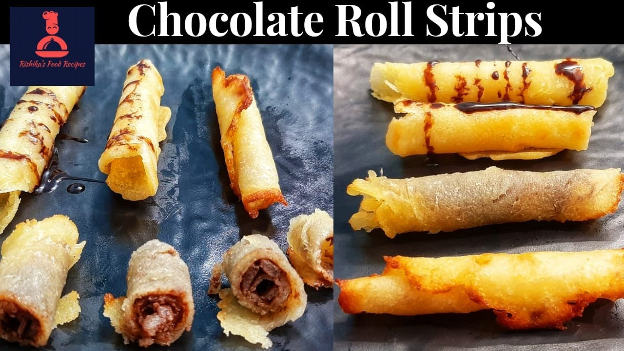 Chocolate Roll Strips Recipe In Tamil | Chocolate Recipes ...