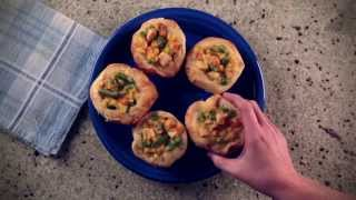 10 Seconds To Dinner: Grands! Mini Chicken Pot Pies