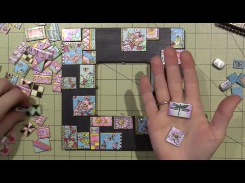Building A Polymer Clay Tile Mosaic