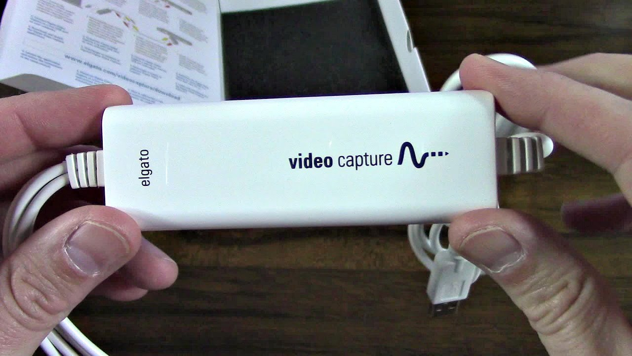 Elgato Video Capture USB Adapter Unboxing