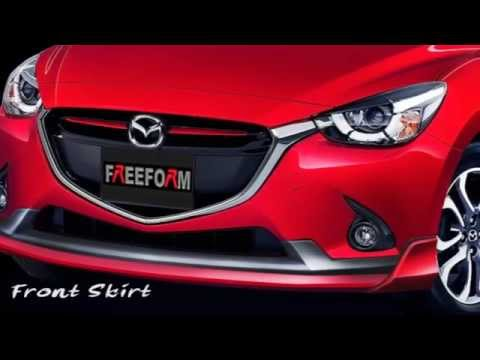 ชุดแต่งรอบคัน All New Mazda 2 จาก FREEFORM