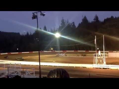 Coos bay speedway 9-13 street stock trophy dash