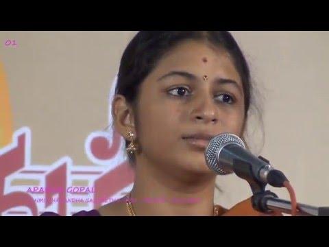 Aparna gopal  - everi - Isai Amutham 2016 - Sanmukhanandha sangeetha saba Tirupur