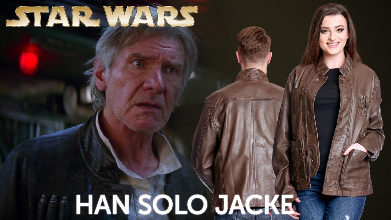 Star Wars Han Solo Lederjacke Youtube