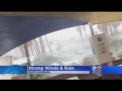 Strong Microburst Stuns Sun Worshippers In Santa Barbara
