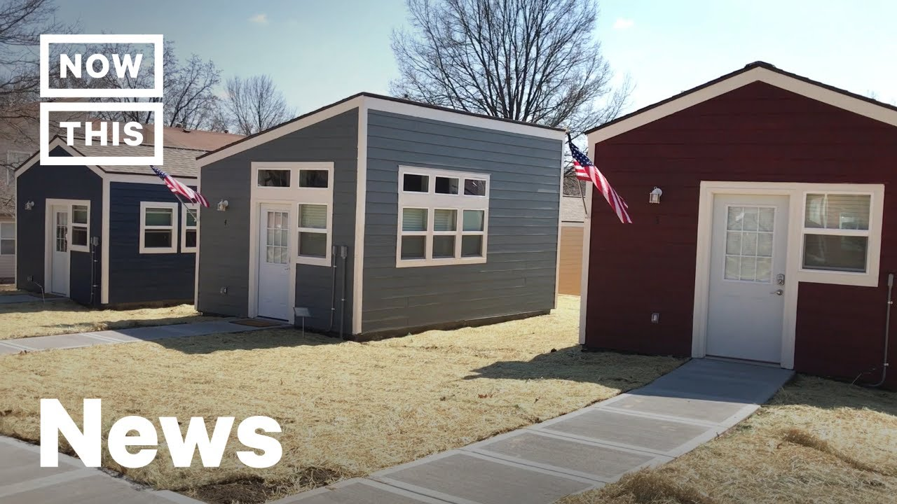 A Tiny Home Village Was Built For Homeless Veterans In