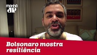 Bolsonaro mostra resiliência e agora fica dúvida sobre presença em debate | Carlos Andreazza