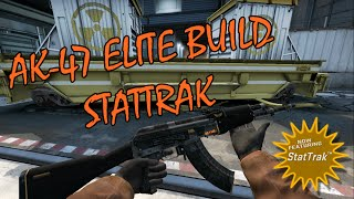Ak-47 Elite Build StatTrak Showcase