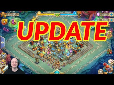 LIFE UPDATE | ACCOUNT UPDATE | CASTLE CLASH | VIDEOS | NEW GAMES