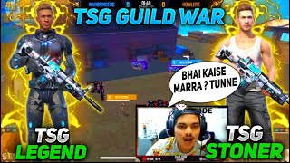 Free Fire Clash Squad Epic 1 Vs 1 Battle Between    TSG•LEGEND And TSG•STONER   