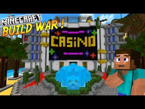 J'OUVRE UN CASINO ! | BUILD WAR | Minecraft