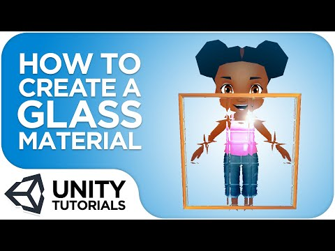 How To Create a Glass Material in Unity – Oxmond Consult