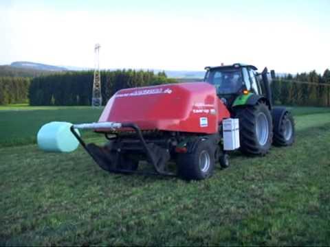 Agrotron M 620 mit Kverneland Taarup BIO