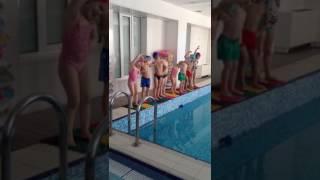Занятия в бассейне приносят нашим детям целый шквал положительных эмоций!!