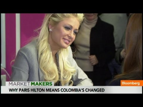 Paris Hilton: A Sign of Change in Colombia