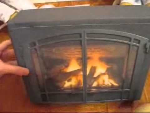 My American Girl Doll Fireplace! - YouTube