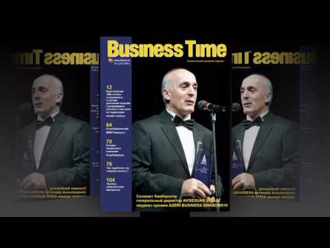 BUSINESS TIME Magazine Baku