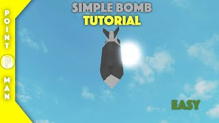 Roblox | Plane Crazy | Simple Bomb Tutorial