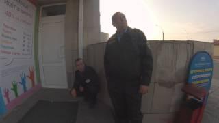 2015-09-02 (02 сентября 2015) Липецк, Площадь Победы, 5А, курящая охрана ООО ЧОО