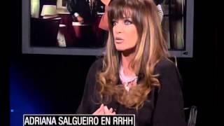 Rolando Hanglin entrevista a Adriana Salgueiro