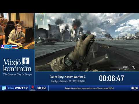 #ESAWinter19 Speedruns - Call of Duty: Modern Warfare 3 [SpecOps - Veteran] by The__VK