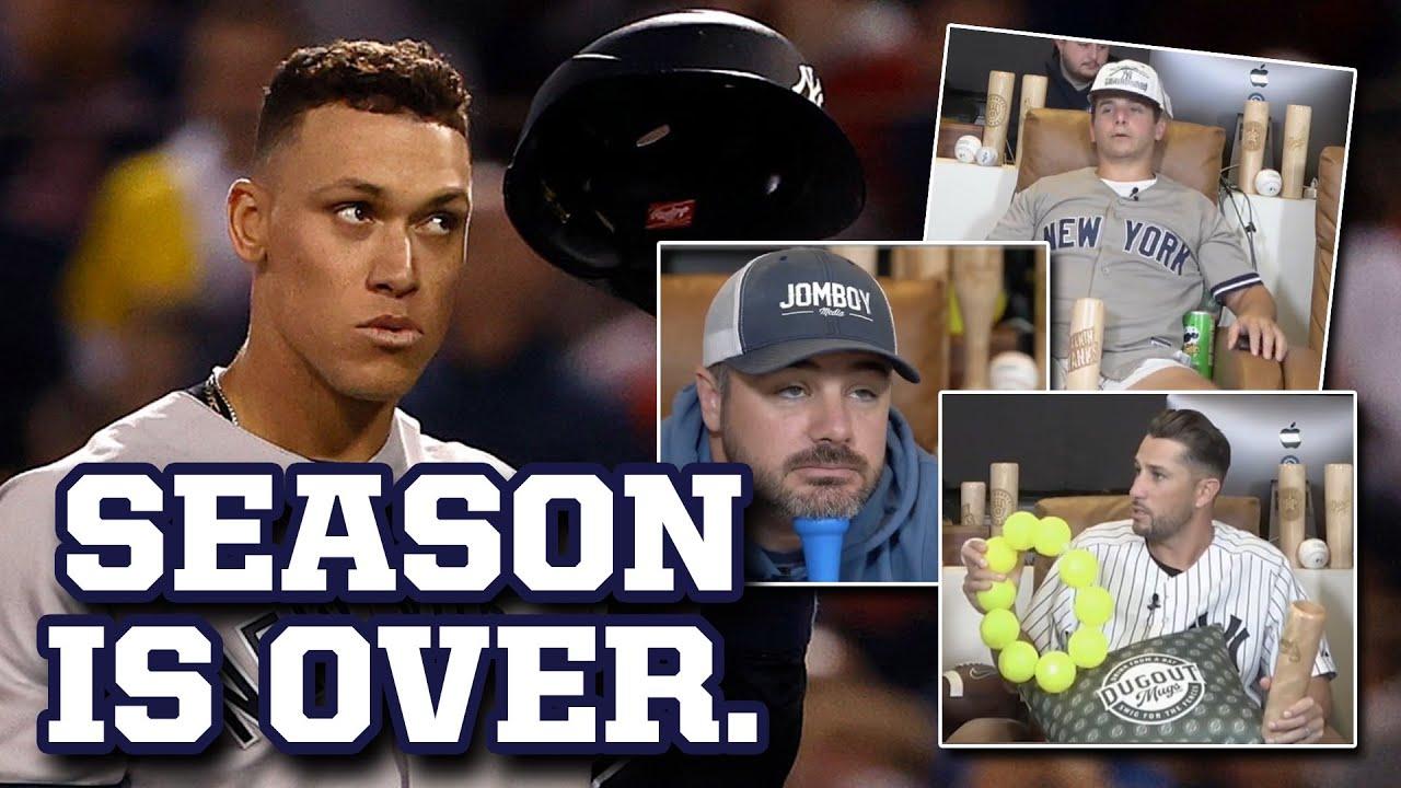 Yankees season is OVER! Jomboy, Jake and Plouffe watched it happen