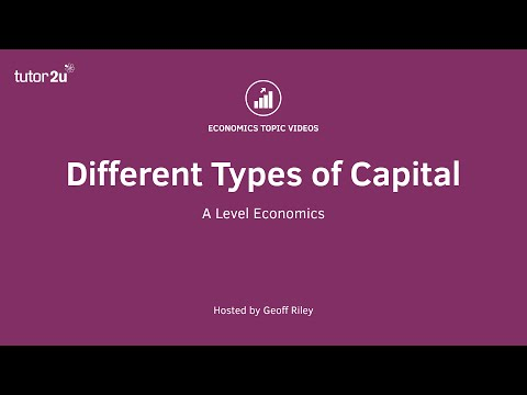 Different Types of Capital I Economics