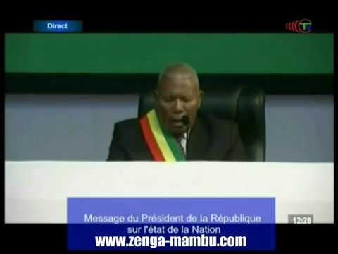 Isidore Mvouba a vu la lumière, il a vu Jésus Christ au Palais des Congrès