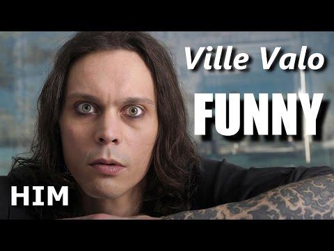 Ville Valo FUNNY  RockStar FAIL