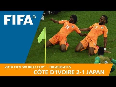 CÔTE DIVOIRE v JAPAN 21 - 2014 FIFA World Cup™