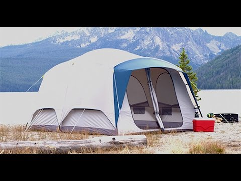 & Hybrid Cabin Tent by Cabelau0027s | Camp Cabelau0027s - YouTube